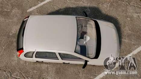 Vaz-1119 Lada Kalina for GTA 4 right view