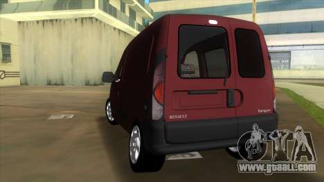 Renault Kangoo for GTA Vice City back left view