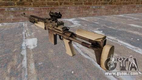 Automatic rifle Mk 14 Mod 0 EBR for GTA 4 second screenshot