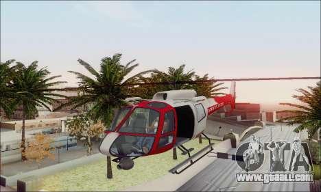 GTA V Ambulacia Maverick for GTA San Andreas upper view