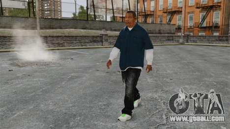 Clinton Franklin for GTA 4 second screenshot