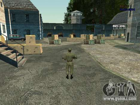 AIRBORNE Fighter for GTA San Andreas third screenshot