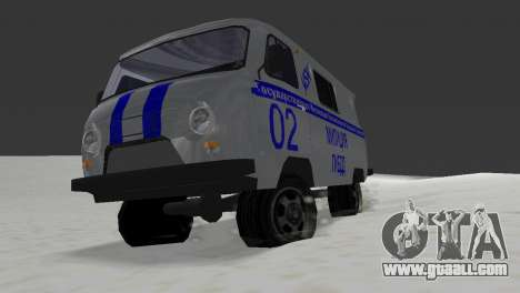 UAZ-3741 GIBDD for GTA Vice City back left view