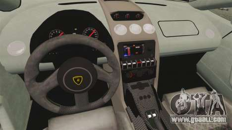 Lamborghini Gallardo 2013 v2.0 for GTA 4 inner view