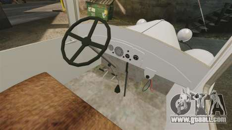 Gaz-AA ambulance for GTA 4 back view