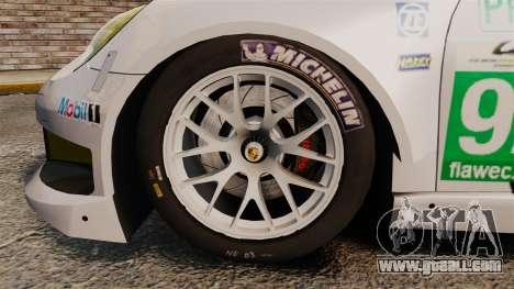 Porsche 911 (991) RSR for GTA 4 back view