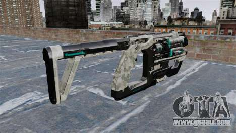 Crysis 2 submachine gun for GTA 4 second screenshot