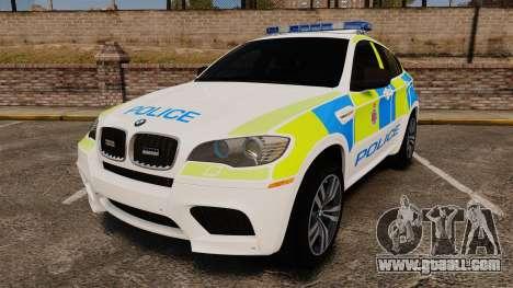 BMW X6 Lancashire Police [ELS] for GTA 4
