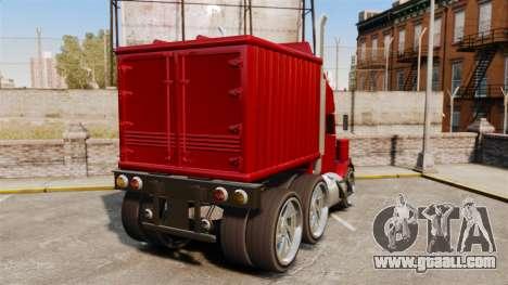 Mini truck for GTA 4 back left view