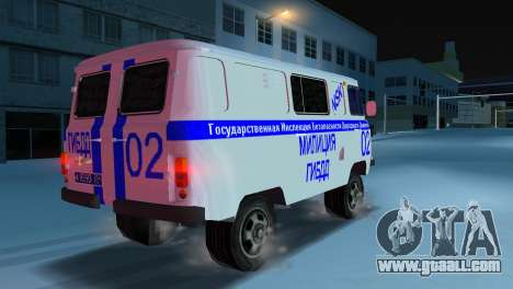 UAZ-3741 GIBDD for GTA Vice City left view