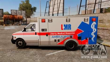 Brute Liberty Ambulance [ELS] for GTA 4 left view