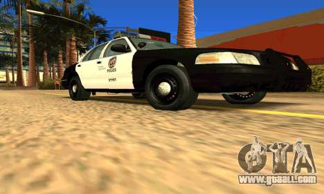 Ford Crown Victoria Police LV for GTA San Andreas right view