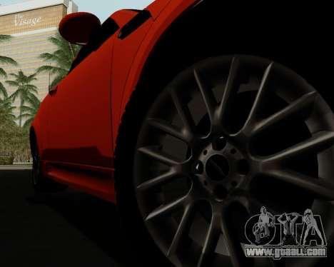 MINI Cooper S 2012 for GTA San Andreas interior
