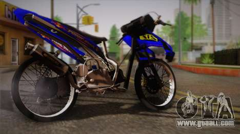 Vario Drag for GTA San Andreas left view