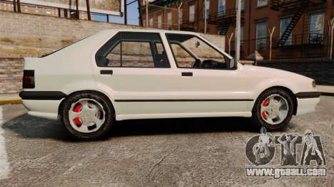 Renault 19 Europa for GTA 4 left view