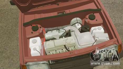 Vaz-2109 for GTA 4 back view