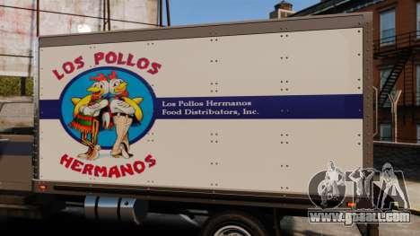 Yankee Los Pollos Hermanos for GTA 4 back left view