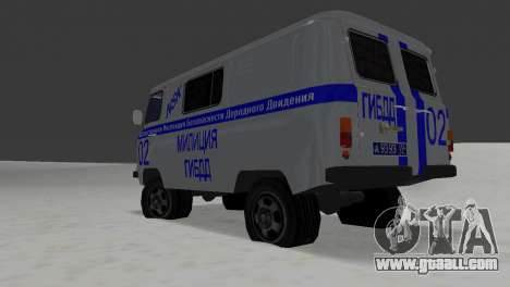 UAZ-3741 GIBDD for GTA Vice City right view