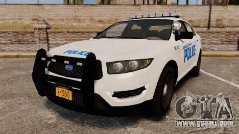 GTA V Vapid Police Interceptor LCPD [ELS] for GTA 4
