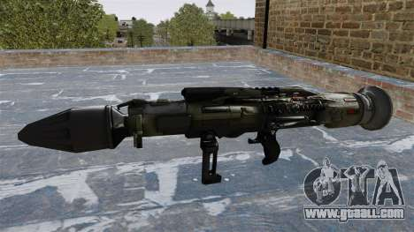 Anti-tank grenade launcher Crysis 2 for GTA 4 third screenshot