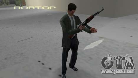 Kalashnikov for GTA Vice City second screenshot