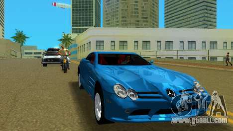Mercedes-Benz SLR McLaren for GTA Vice City left view