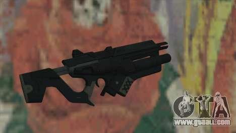 Rifle of Timeshift for GTA San Andreas second screenshot