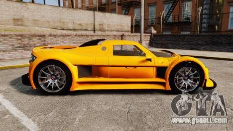 Gumpert Apollo S 2011 for GTA 4 left view