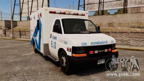 Brute Ambulance Toronto [ELS] for GTA 4