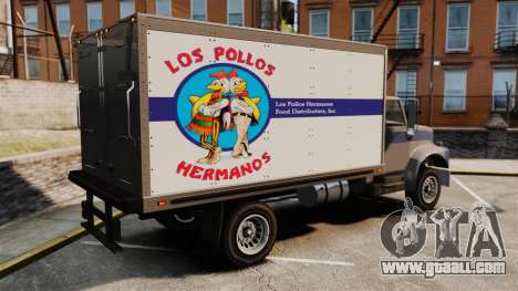 Yankee Los Pollos Hermanos for GTA 4 left view