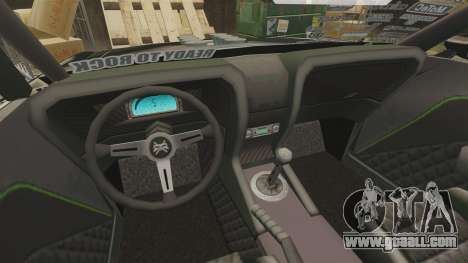 Ford Mustang RTRX for GTA 4 inner view
