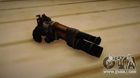 The gun from Bulletstorm for GTA San Andreas