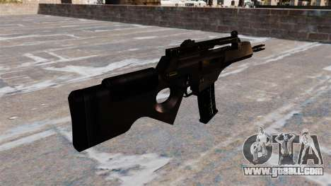 HK SL8 rifle of Bullpup for GTA 4 second screenshot
