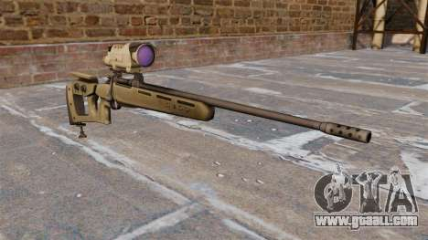 GOL sniper rifle-Sniper Magnum for GTA 4