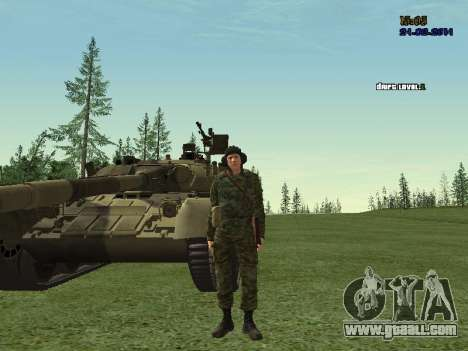 Tankman for GTA San Andreas third screenshot
