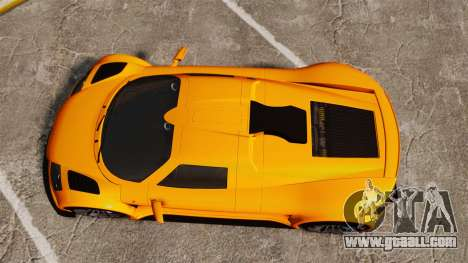 Gumpert Apollo S 2011 for GTA 4 right view