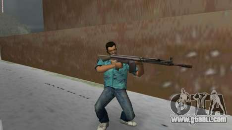 H&K G3A3 for GTA Vice City third screenshot