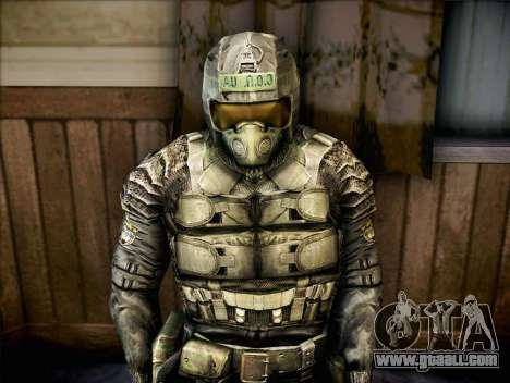 Military of call of Pripyat for GTA San Andreas