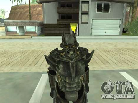 New skin from Fallout 3 for GTA San Andreas forth screenshot