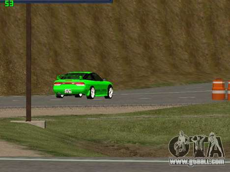 Nissan 240SX Drift Version for GTA San Andreas right view