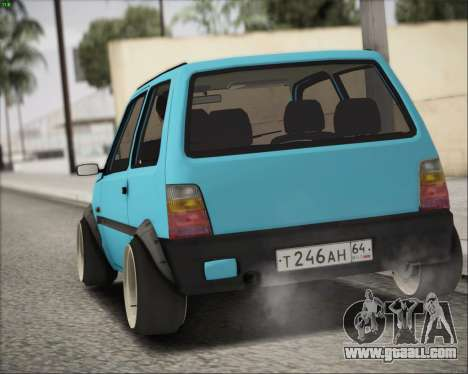 VAZ 1111 for GTA San Andreas back left view
