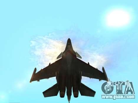 Su 33 for GTA San Andreas engine