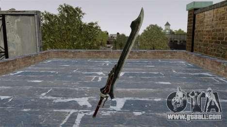 Sword-Red Queen- for GTA 4 second screenshot