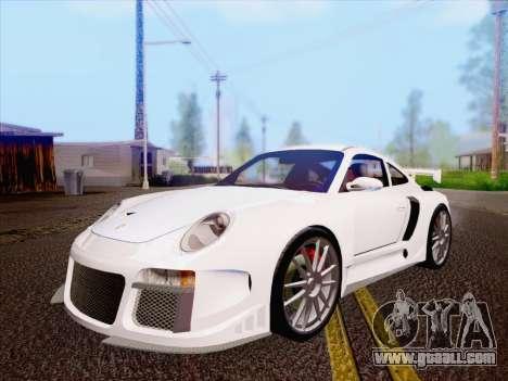 Porsche Carrera S for GTA San Andreas
