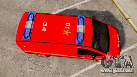 Mercedes-Benz Vito Metropolitan Police [ELS] for GTA 4 right view