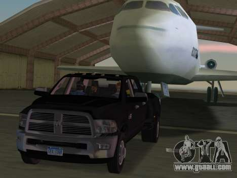 Dodge Ram 3500 Laramie 2012 for GTA Vice City bottom view