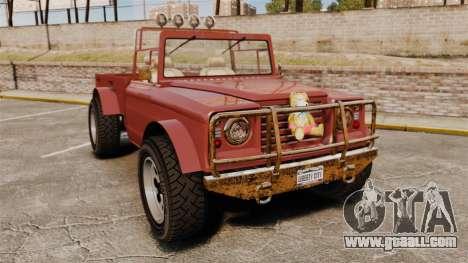 GTA V Canis Bodhi (Trevor Car) for GTA 4