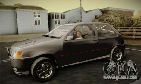 Ford Fiesta Mk3 XR2i for GTA San Andreas right view