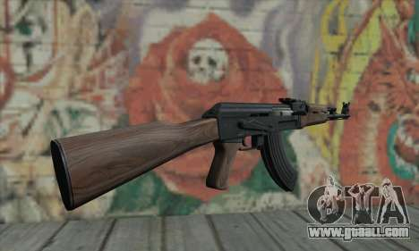 AK-47 for GTA San Andreas second screenshot