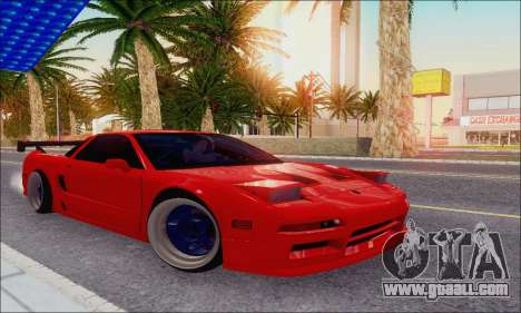 Acura NSX Drift for GTA San Andreas side view